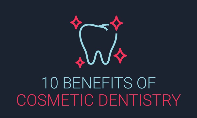 The Top 10 Benefits of Cosmetic Dentistry – Infographic